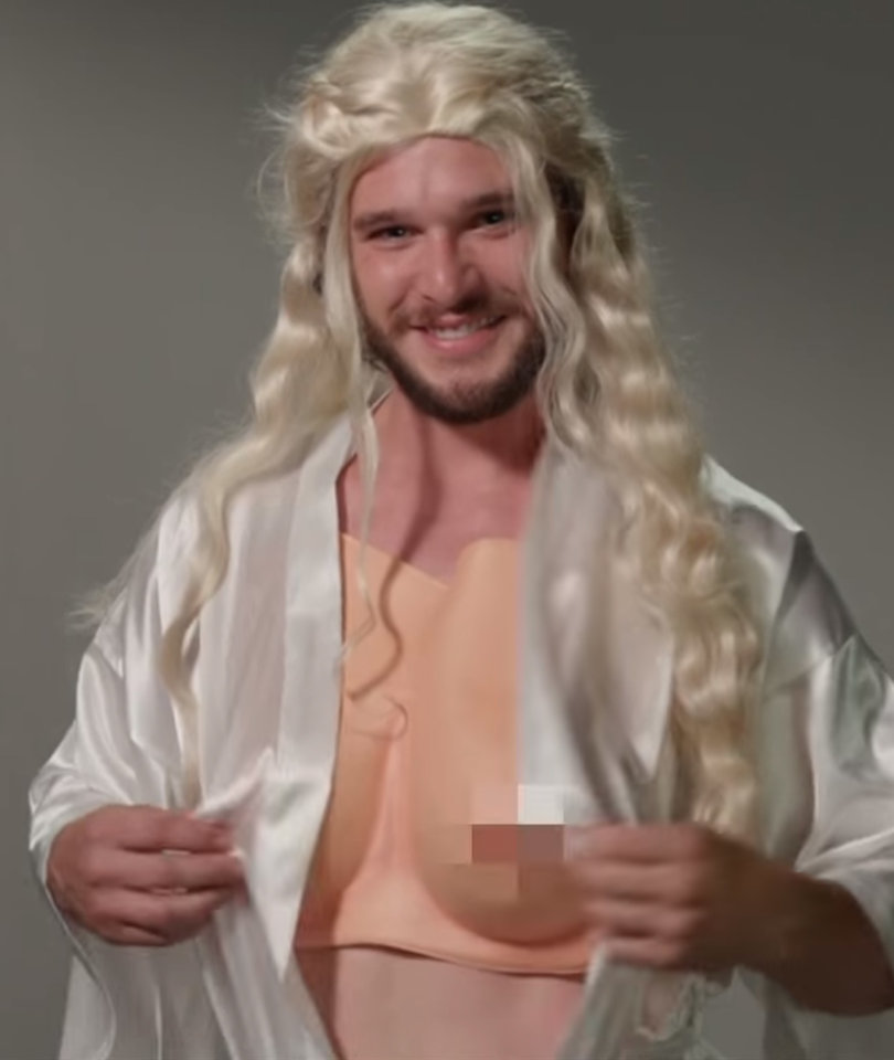 Kit Harington Auditions for Every 'Game of Thrones' Role on 'Kimmel'