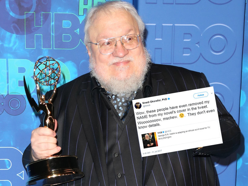 George RR Martin to Produce New Fantasy Series