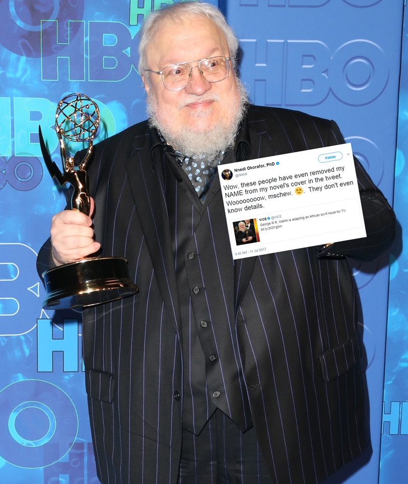 Vice Is Getting Absolutely Roasted Over This George R.R. Martin Tweet