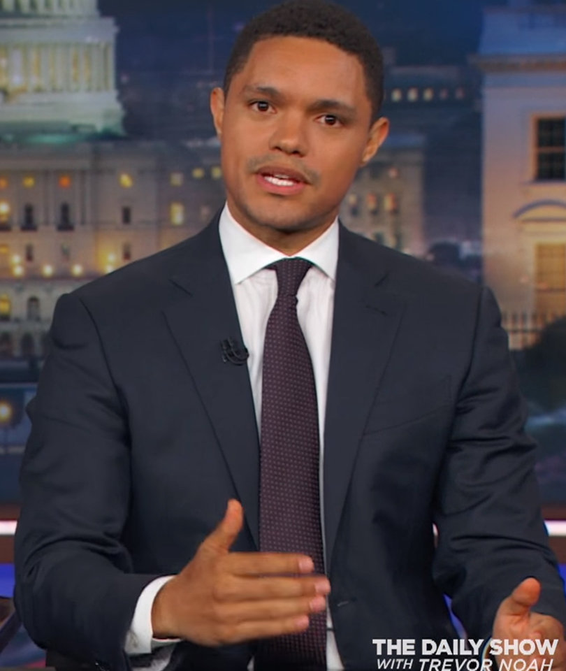 Trevor Noah Says Trump Scandals Don't Even Qualify for 'Blue's Clues'