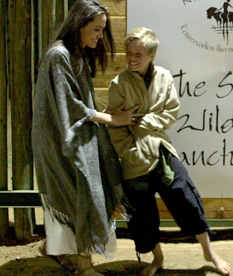 See More Photos of Angelina Jolie and Shiloh Jolie-Pitt In Namibia