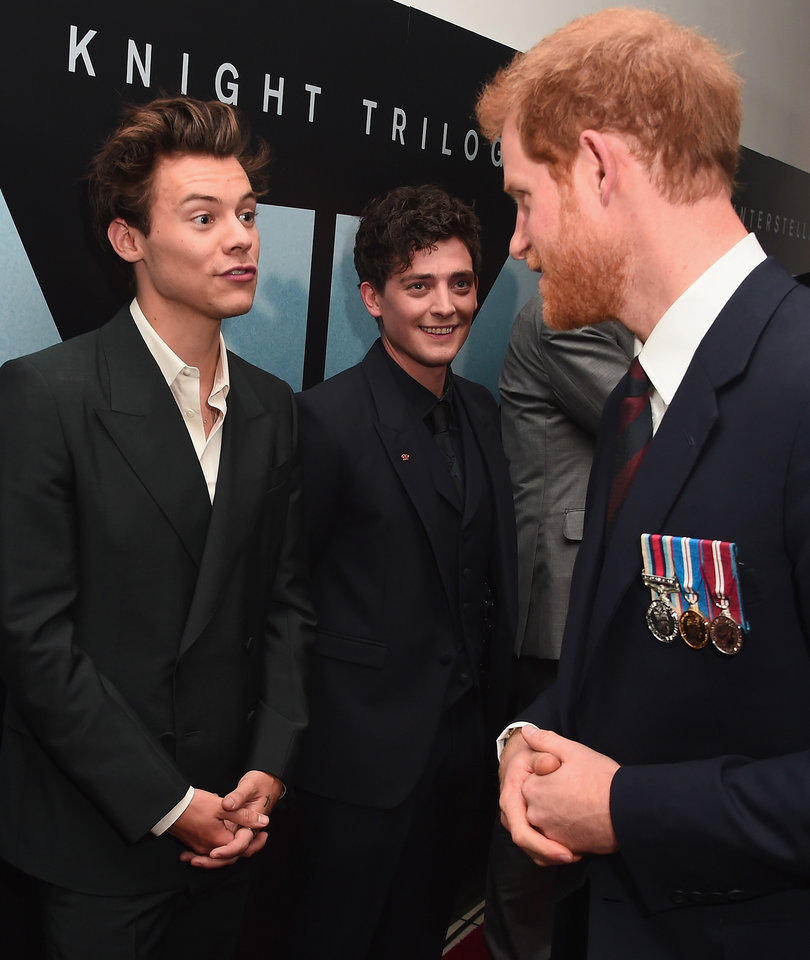When Harry Met Harry: Inside the World Premiere of 'Dunkirk'