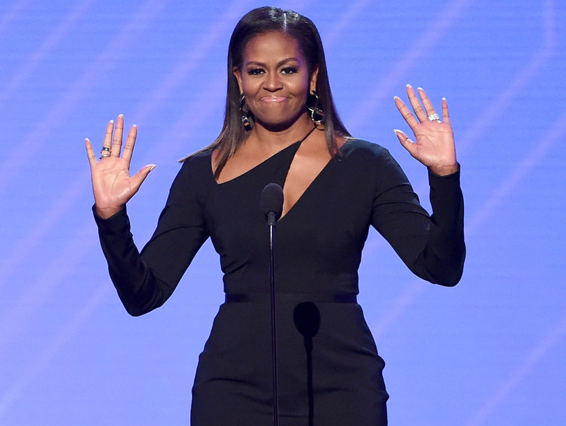 Michelle Obama Presents the Arthur Ashe Courage Award at ESPYs
