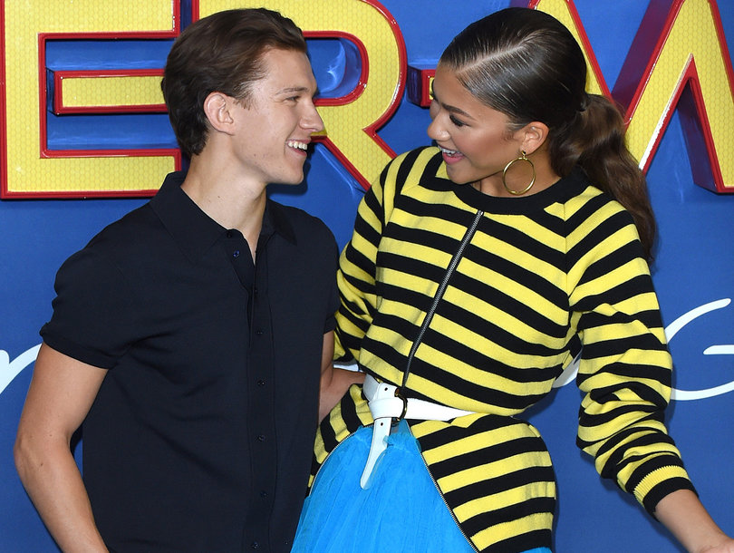 'Spider-Man: Homecoming' Co-Stars Tom Holland and Zendaya Mock Reports They're Dating
