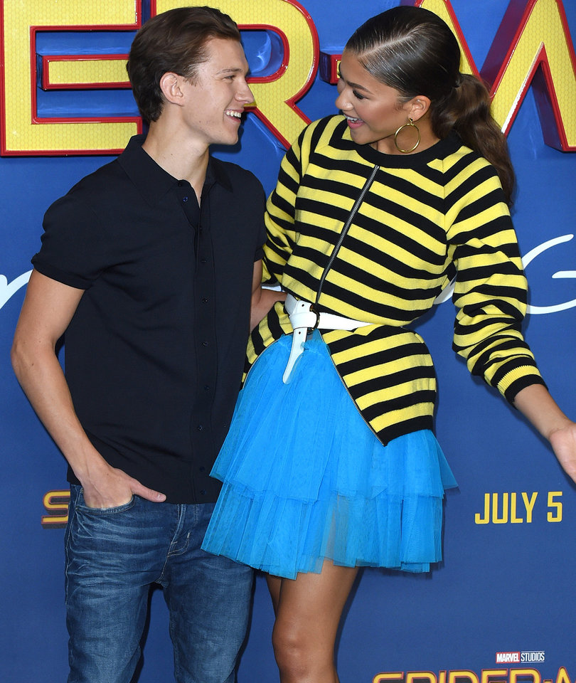 'Spider-Man' Co-Stars Tom Holland and Zendaya Mock Dating Reports