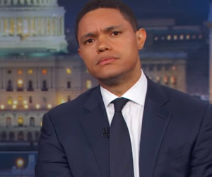 Trevor Noah Roasts Fox News for 'Dumb as F-ck' Defense of Trump Jr