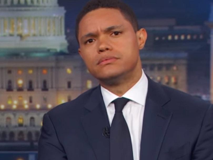 Trevor Noah Roasts Fox News for 'Dumb as F-ck' Defense of Trump Jr