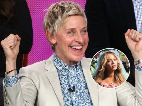 Ellen DeGeneres Hilariously Trolls Beyonce's Twin Picture With Photoshop