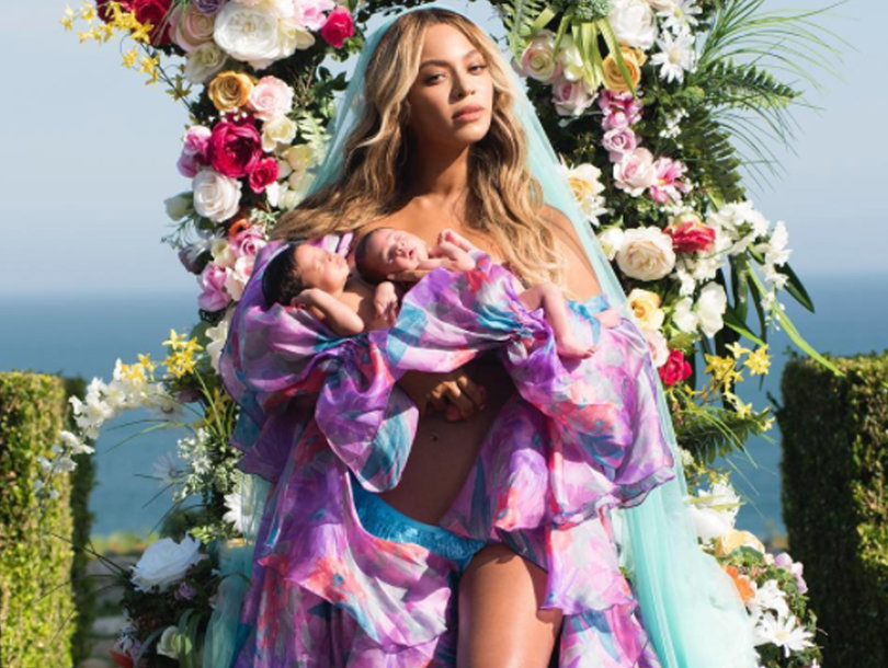 Beyonce Shares First Photos of the Twins, Confirms Their Names