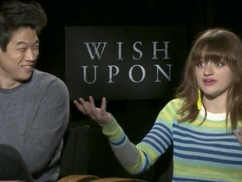 Joey King and Ki Hong Lee Talk 'Wish Upon'