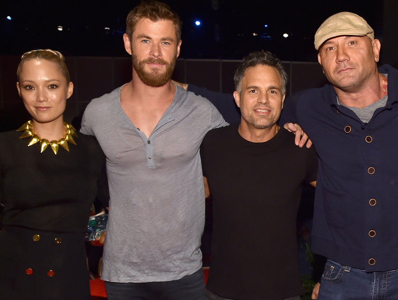 Guardians of the Galaxy, Thor and Hulk Hang In Anaheim