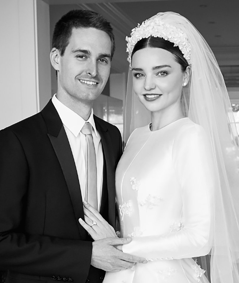 Miranda Kerr Unveils First Photos of Princess Grace-Inspired Wedding Dress