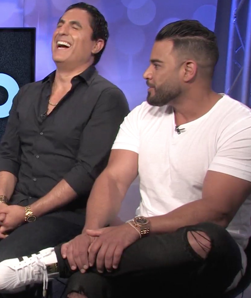 How Saddam Hussein Influenced Reza Farahan's 'Shahs of Sunset' Makeover