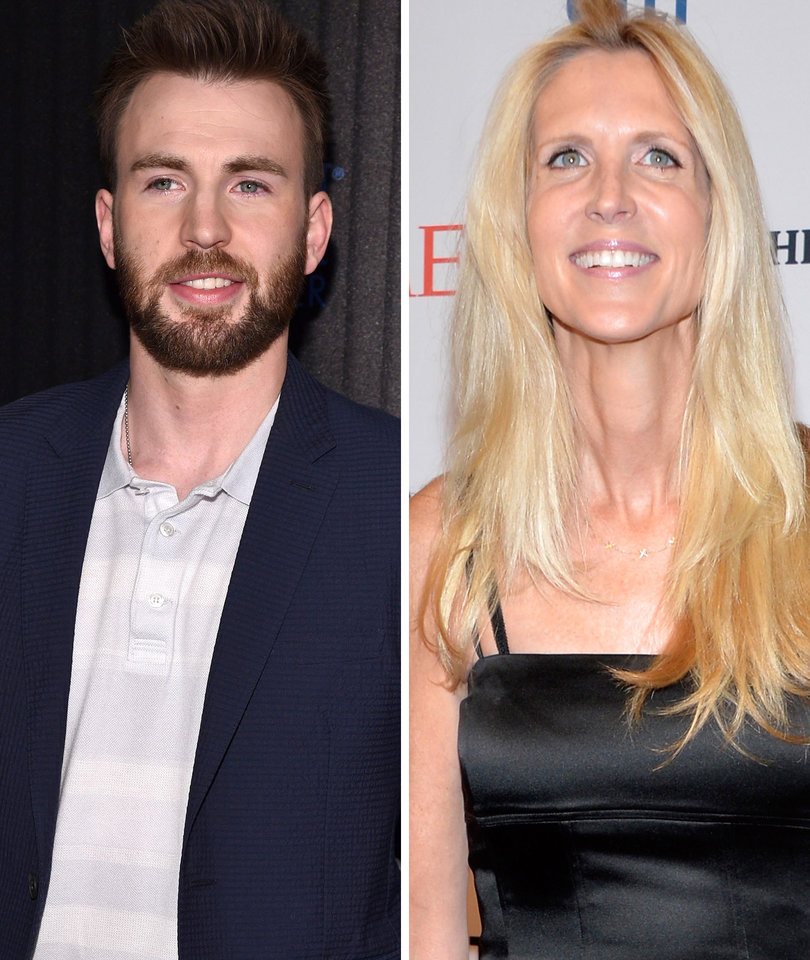Chris Evans Masterfully Trolls Ann Coulter Over Delta Twitterstorm