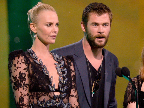 Why Chris Hemsworth Thinks Charlize Theron Should Be the First Female James Bond