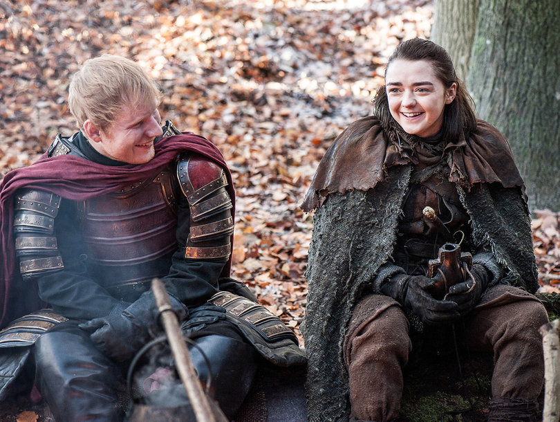 ed sheeran 810x610 twitter eviscerates ed sheeran's 'game of thrones' cameo toofab com