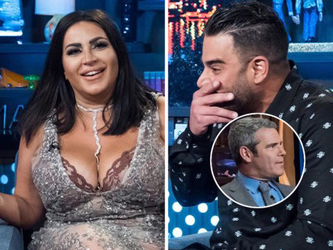 Andy Cohen Scolds 'Shahs of Sunset' Stars on 'WWHL'