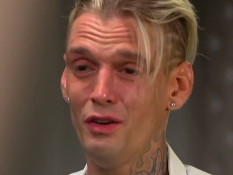 Aaron Carter Breaks Down As He Gives His Side of His Arrest Story (Video)