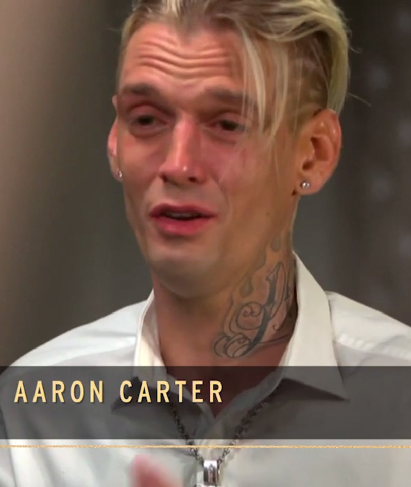 Aaron Carter Breaks Down As He Gives His Side of Arrest Story