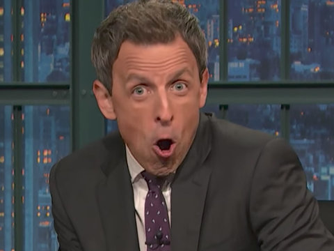 Seth Meyers Unloads on Donald Trump Jr. with 14-Minute Takedown