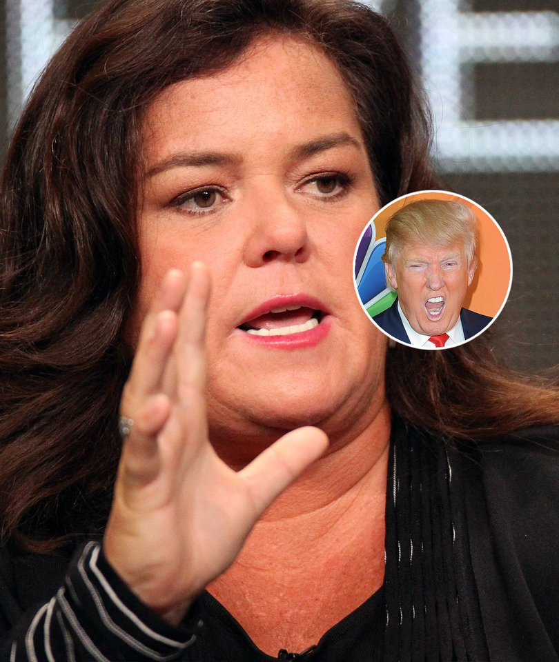 Rosie O'Donnell Under Fire for 'Push Trump Off A Cliff' Game