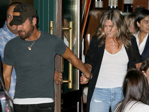 Jennifer Aniston and Justin Theroux Enjoy Date Night in NYC