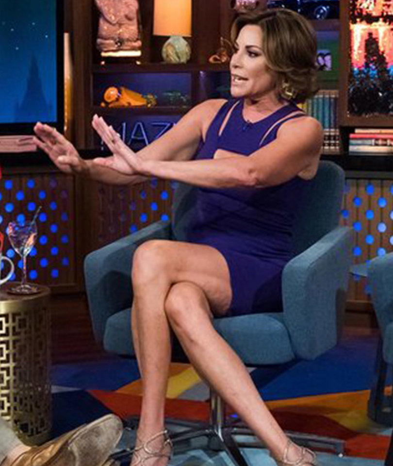 'RHONY' Star Luann D'Agostino Denies Marriage Troubles
