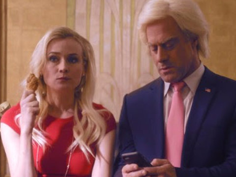 Funny or Die Parodies Kellyanne Conway with Diane Kruger TV Movie Trailer