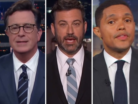 Late-Night Stars Puzzled by Trump's Undisclosed Putin Meeting