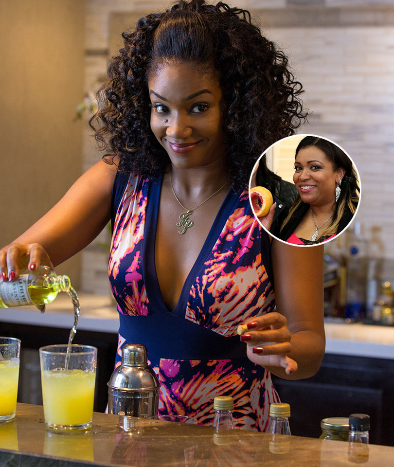 'Grapefruit Technique' Teacher Auntie Angel Grades 'Girls Trip' Gag