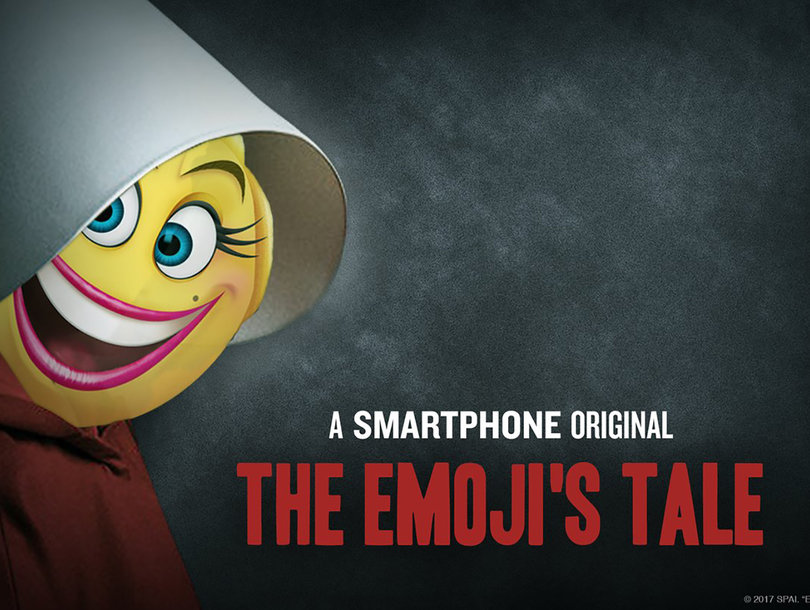 'Delete Your Account': 'Emoji Movie' Gets Roasted for 'Handmaid's Tale' Tweet