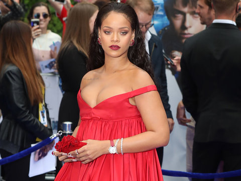 Rihanna Is a Vision at 'Valerian' Premiere In London