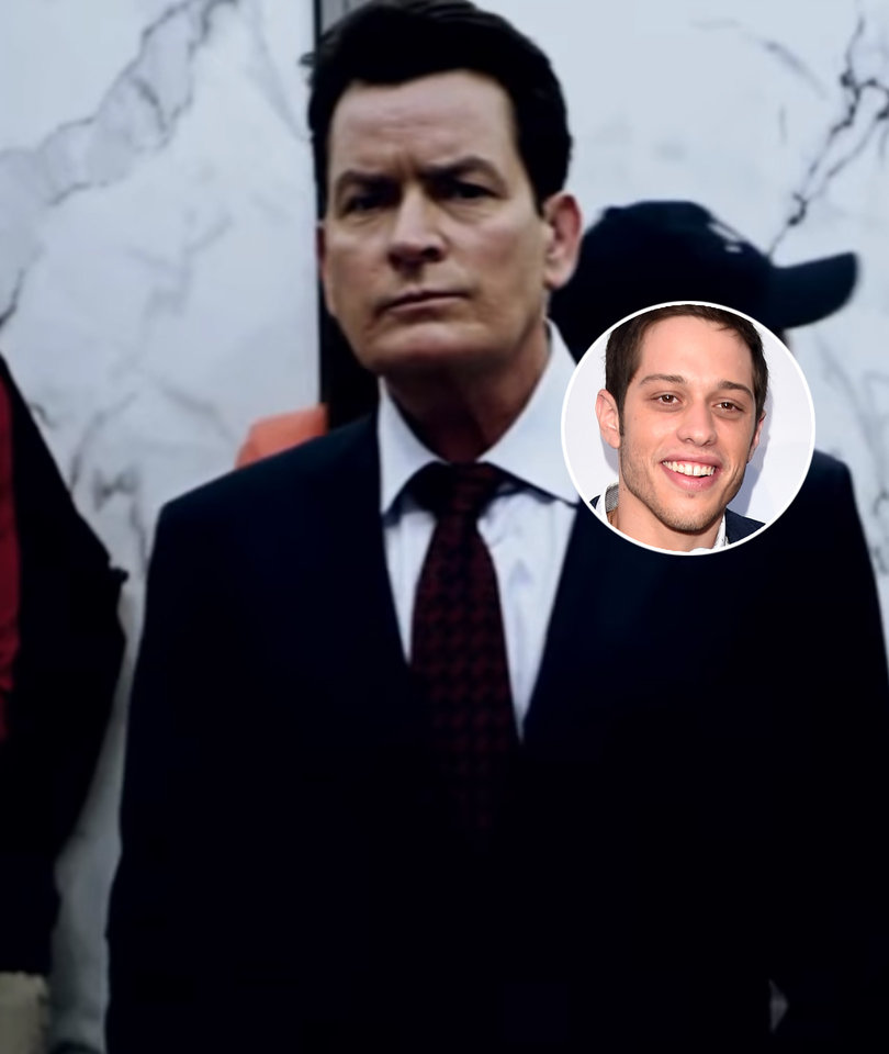 Why 'SNL' Star Pete Davidson Is Pissed at Charlie Sheen's '9/11' Movie