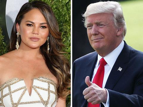 What Chrissy Teigen Said to Make Trump Block Her on Twitter