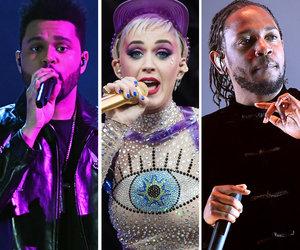 Kendrick Lamar, Katy Perry & The Weeknd Top MTV VMA 2017 Nominations