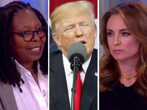 'The View' Shreds Donald Trump's 'Insane' Boy Scouts Speech