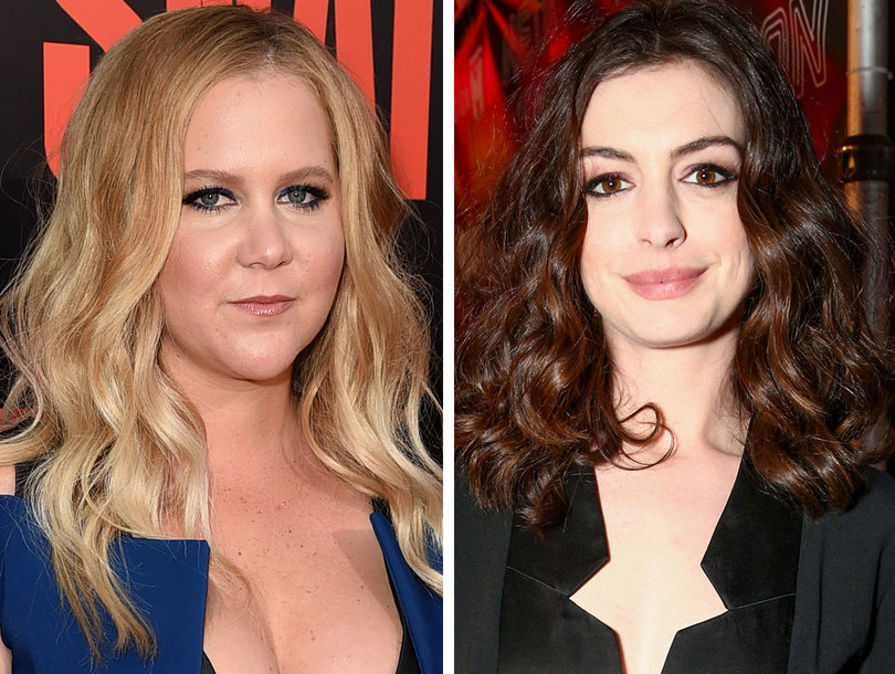 Amy Schumer Weighs in on Anne Hathaway as Barbie