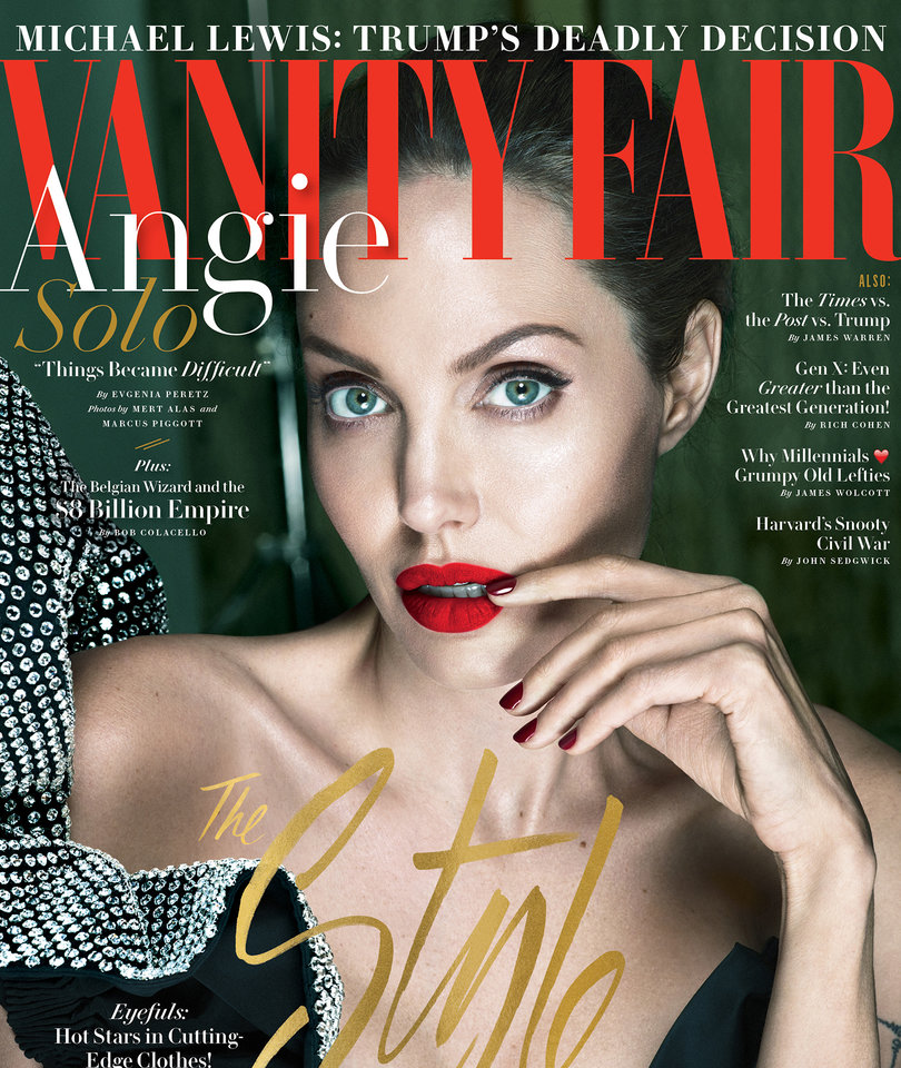 Vanity Fair Stands By Controversial Angelina Jolie Casting Story