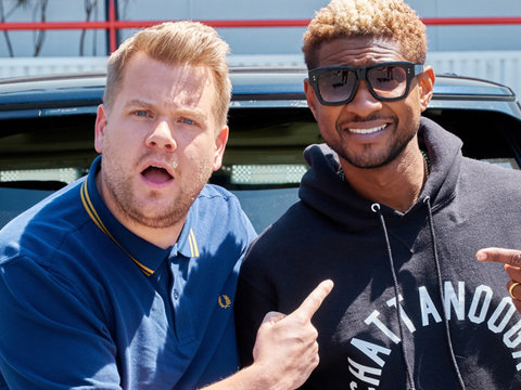 Usher Teaches James Corden Proper Use of 'My Bitch' on 'Carpool Karaoke'