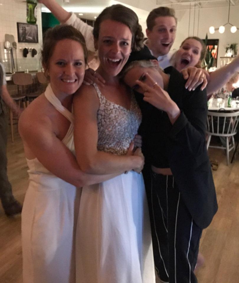 Kristen Stewart and Model Girlfriend Crash Same-Sex Wedding
