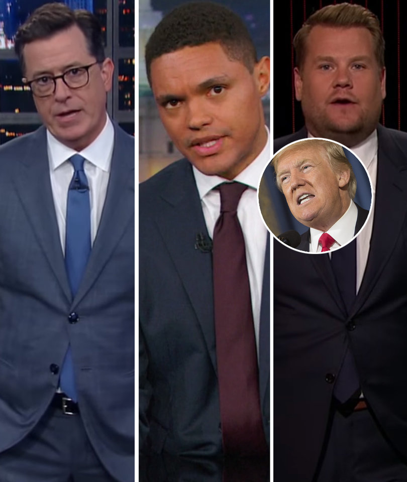 Late-Night Hosts Tear Into Trump's 'Horrific' Boy Scouts Speech