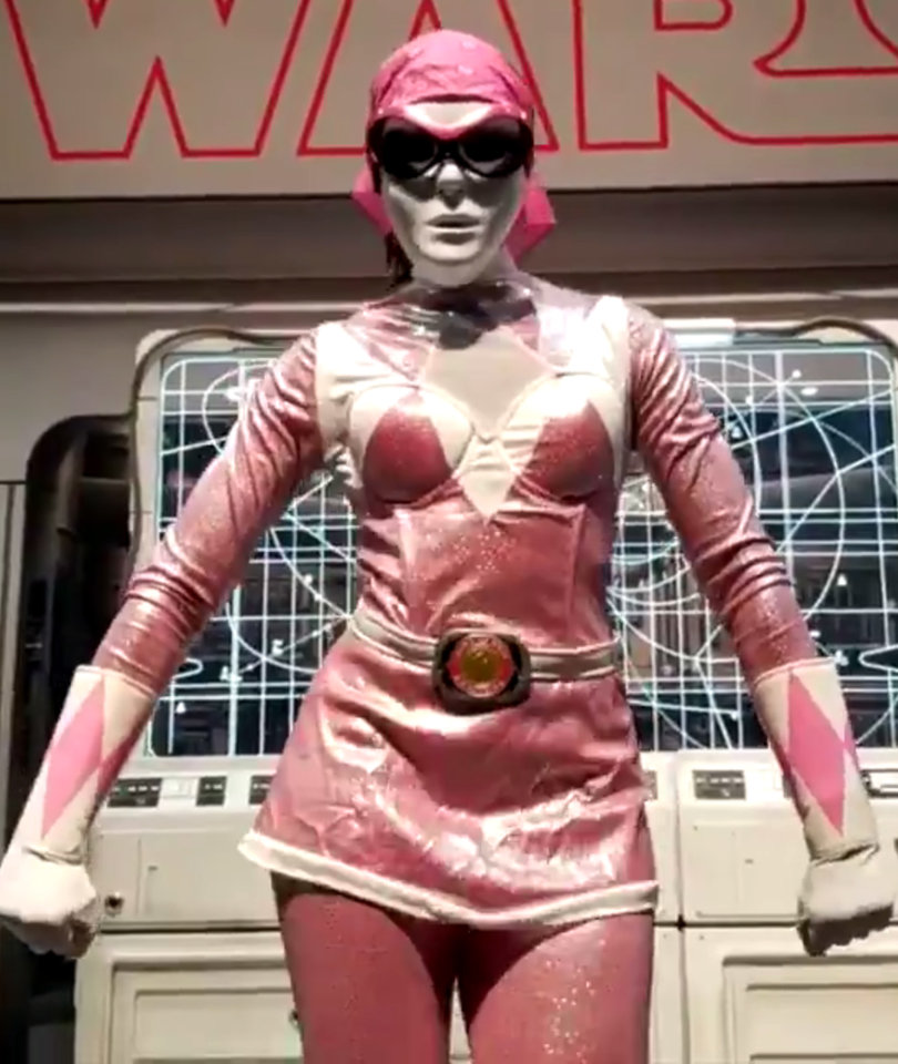 Lupita Nyong'o Undercover as the Pink Ranger at Comic-Con Is Pure Joy