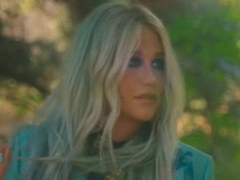 Kesha Exorcises Her Demons 'Learn to Let Go' Music Video