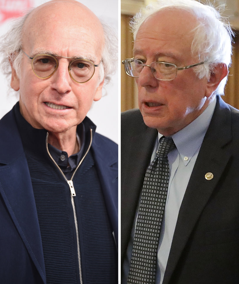 'SNL' Shocker: Larry David and Bernie Sanders Are Related