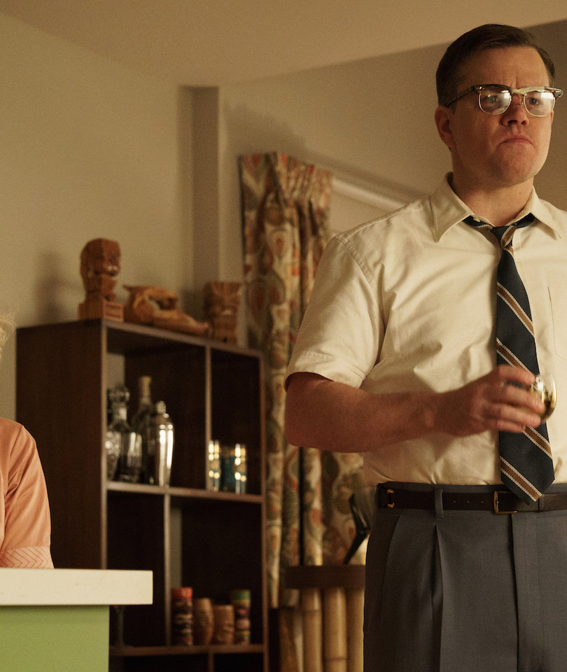 Matt Damon Is a Bloody Mess in First 'Suburbicon' Trailer