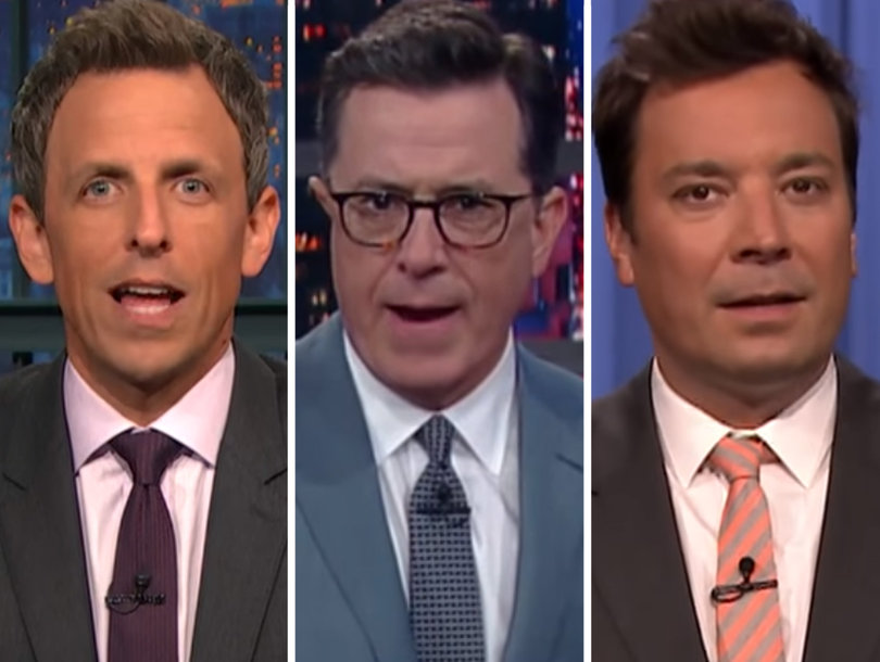 'Thank You? F-ck You': Late-Night Hosts Skewer Trump Over Trans Military Ban (Video)