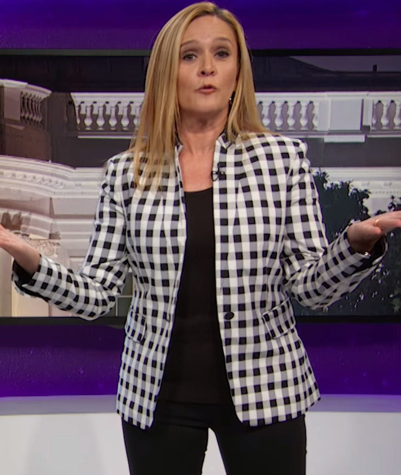 Sam Bee Slams Trump for Making Up 'Bullsh-t Discriminatory Laws'