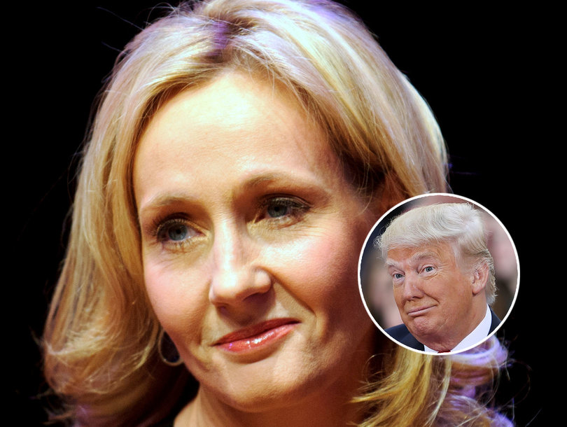 JK Rowling Says Trump Ignored Boy in Wheelchair, Full Video Says Otherwise
