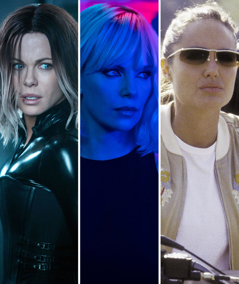 Charlize In 'Atomic Blonde' and 12 Other Badass Female Movie Stars