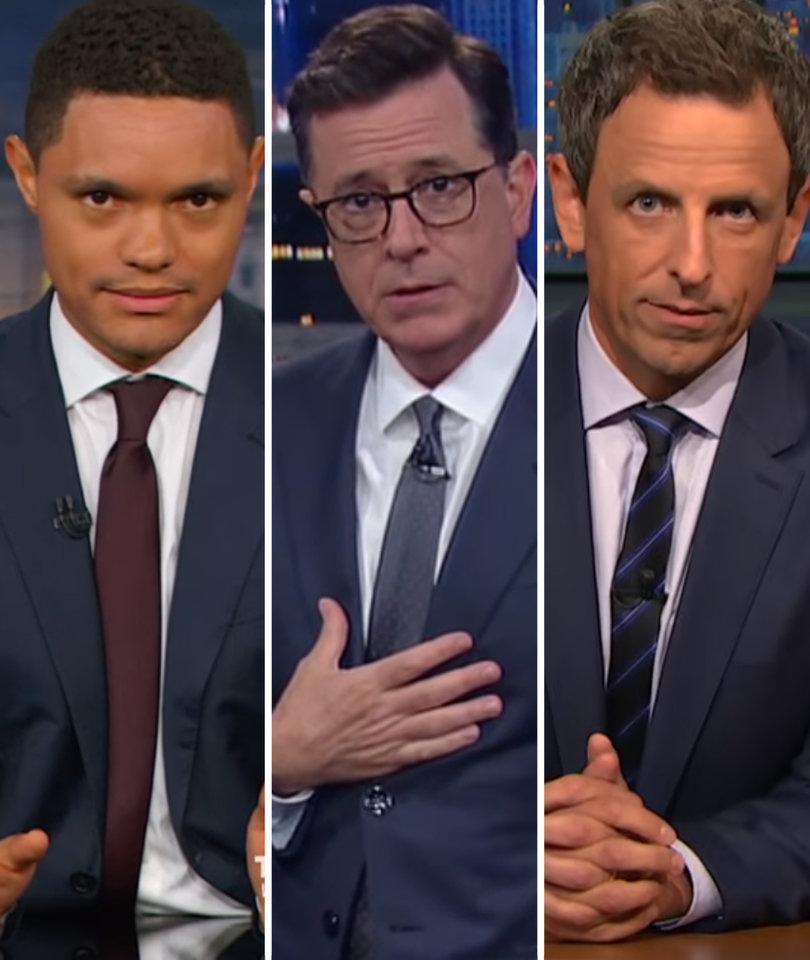 Late-Night Stars Feast on Anthony Scaramucci's NSFW Rant